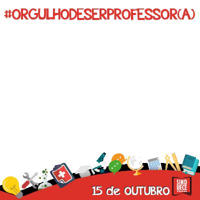 Orgulho de ser professor(a)