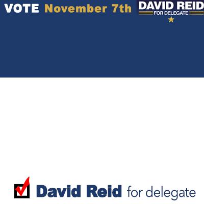 Reid for Delegate