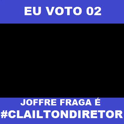 Eu voto Clailton Diretor
