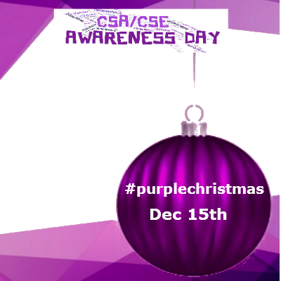 #purplechristmas December 15