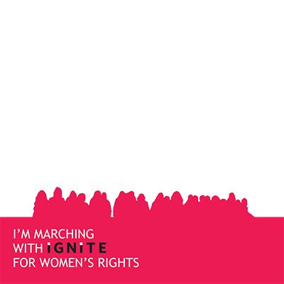 March with IGNITE on 1/21