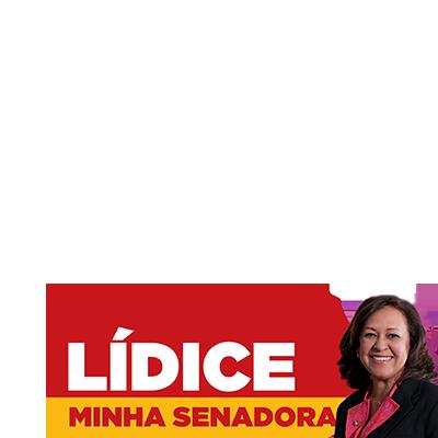 #LídiceMinhaSenadora