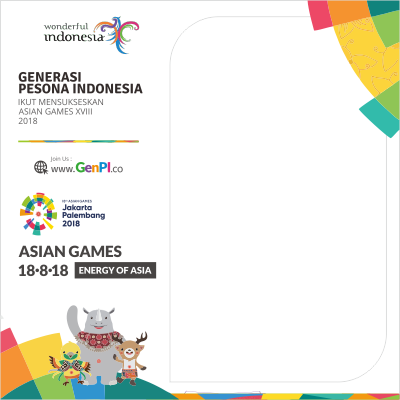 Asian Games 2018 GenPi