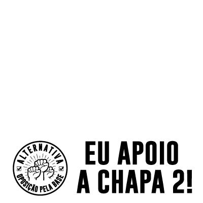 EU voto Chapa 2!