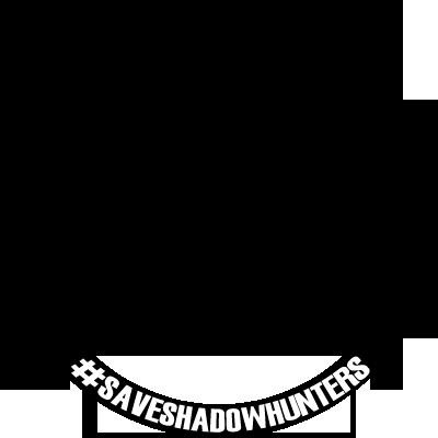 #SAVESHADOWHUNTERS (black)
