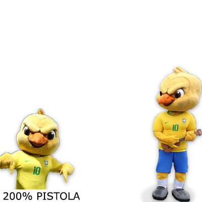 We are Canarinho Pistola