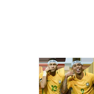 Neymar & Jesus rumo ao Hexa