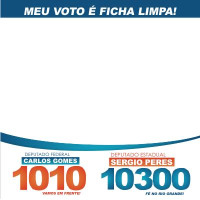 Sergio Peres e Carlos Gomes