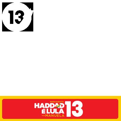 Haddad é Lula 13