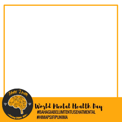 World Mental Health Day 2018 Support Campaign Twibbon