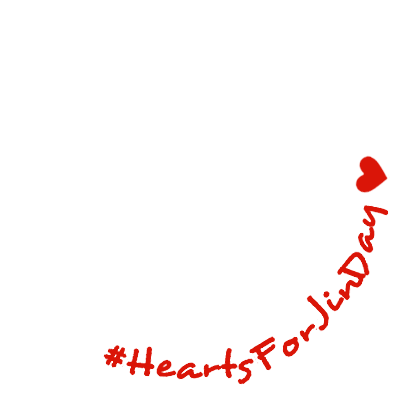 #/HeartsForJinDay ver.2