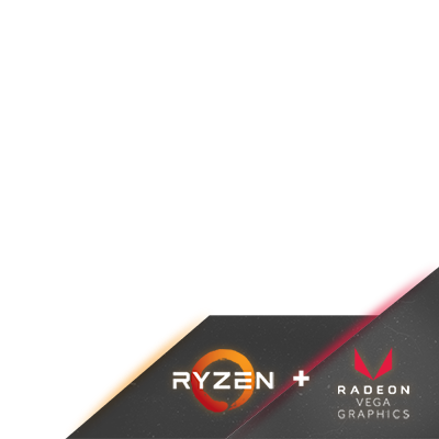 Emblem APU Ryzen Vega