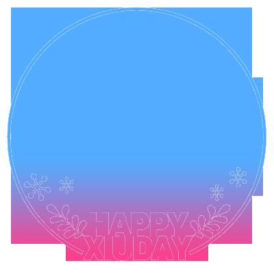 HAPPY XIUDAY-pinksky