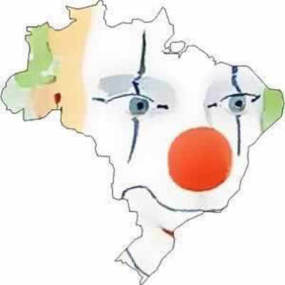 Brasil cara de palhaço