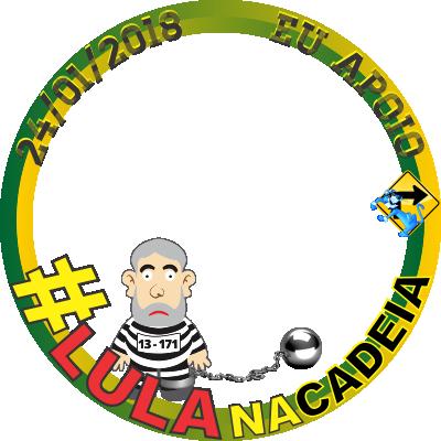 #LulaNaCadeia