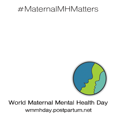 World Maternal Mh Day Support Campaign Twibbon