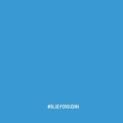 Blue for Sudan