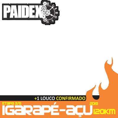 PAIDEX IGARAPÉ-AÇU 2019