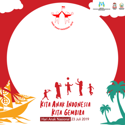 Hari Anak Nasional 2019 Support Campaign Twibbon