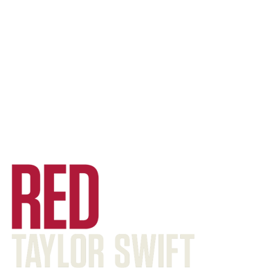 Red Taylor Swift Support Campaign Twibbon