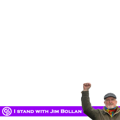 I stand with Jim Bollan