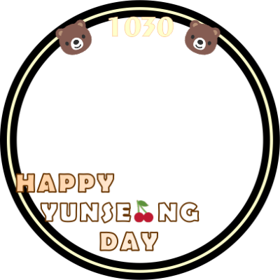 HAPPY YUNSEONG DAY
