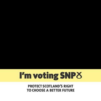 I'm voting SNP