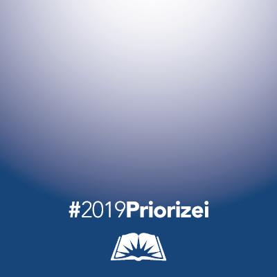 #2019Priorizei