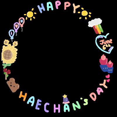 its haechan day !!