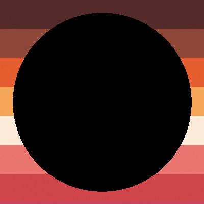 POC Solidarity Lesbian Flag