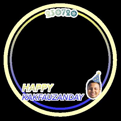 Kakfauzanday Twibbon Support Campaign Twibbon