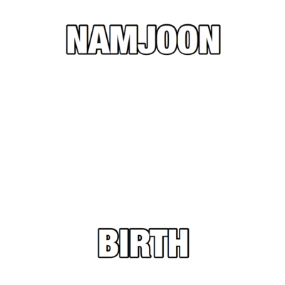 namjoon birthday!