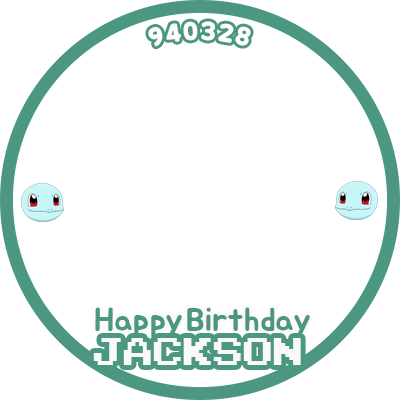 Happy birthday, Jackson Wang
