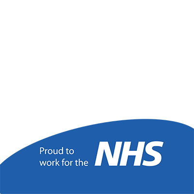 Proud to work for the NHS