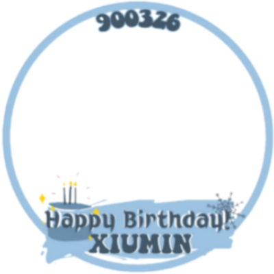 Happy Xiumin Day!