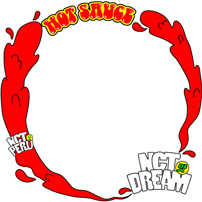Support NCT DREAM Hot Sauce