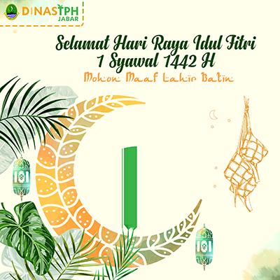 Idul Fitri 1442 H Dinas TPH