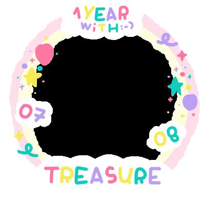 TREASURE 1 year ANNIVERSARY