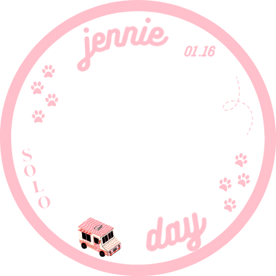 jennie bday border 3/4