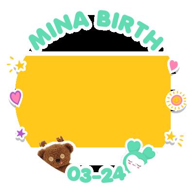 MINA BIRTH (WHITE)