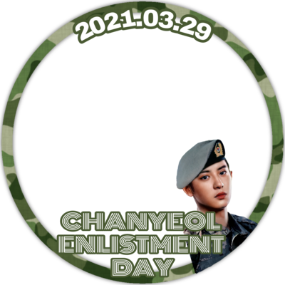 CHANYEOL ENLISTMENT DAY